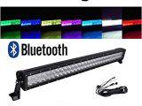 Cree Led Light Bar Wiring Diagram Amazon Com Omotor 5d 32 Inch Rgb Cree Led Work Light Bar App