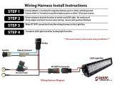 Cree Led Light Bar Wiring Diagram Polaris Ranger Light Bar Install