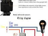 Day Night Sensor Wiring Diagram Acehe Outdoor Motion Sensor Switch 220v 12v Wall Light Lamp