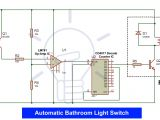 Day Night Sensor Wiring Diagram Automatic Bathroom Light Switch Circuit Diagram and Operation