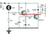 Day Night Sensor Wiring Diagram Automatic Day Night Triggered Car Headlamp Circuit
