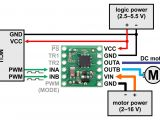 Dc Motor Wiring Diagram 4 Wire Pololu Bd65496muv Single Brushed Dc Motor Driver Carrier