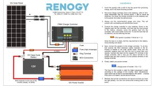 Deep Cycle Battery Wiring Diagram Diy solar Panel System Wiring Diagram Volovets Info Diy