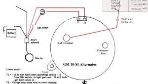 Delco 3 Wire Alternator Wiring Diagram 4 Wire Alternator Wiring toyota Mwb Online Co