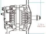 Delco Remy 28si Wiring Diagram 28si High Output Brush Type Alternator Delco Remy