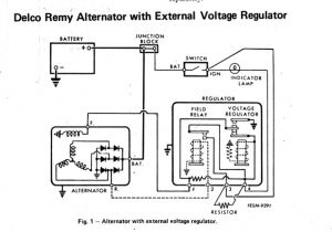 Delco Remy 28si Wiring Diagram Delco Remy 8700018 Alternator Wiring Diagram