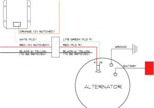 Delco Remy Alternator Wiring Diagram 4 Wire Delco 11si Alternator Wiring Diagram Wiring Diagrams Bib