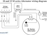 Delco Remy Alternator Wiring Diagram 4 Wire Gm Si Alternator Wiring Wiring Diagram Datasource