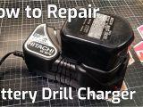 Dewalt 20 Volt Battery Wiring Diagram Battery Drill Charger Repair