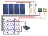 Diy solar Panel Wiring Diagram Wiring solar Panels to Battery Bank Wiring Diagram Img