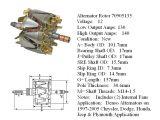 Dodge Alternator Wiring Diagram Alternator Armature Denso Alternators On Chrysler Dodge Honda
