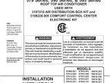 Dometic Penguin 2 Wiring Diagram Dometic 57915531 Air Conditioner Manualzz