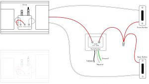 Doorbell Wire Diagram Wiring A Second Doorbell Chime Wiring Diagram Show