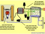 Doorbell Wiring Diagram Wiring Door Chime with Transformer Wiring Diagram for You