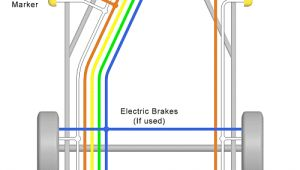 Double Axle Trailer Brake Wiring Diagram Trailer Wiring Diagrams for Single Axle Trailers and Tandem