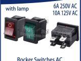 Dpst Rocker Switch Wiring Diagram 1 X Green button 4 Pin Dpst On Off Illuminated Car Rocker