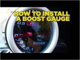 Drift Gauges Wiring Diagram How to Install Boost Gauge Diy Youtube