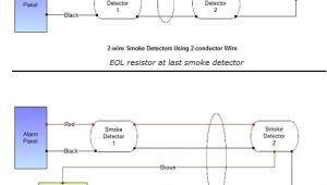 Dsc 2 Wire Smoke Detector Wiring Diagram Smoke Detector Wiring Connecting Multiple Runs