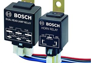 Dual Headlamp Relay Wiring Diagram Bosch Dual Head Lamp Relay 12v and Wiring Harness Kit Buy