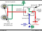 Dual Headlamp Relay Wiring Diagram How to Wire A Relay for Horns On Mgb and Other British Cars