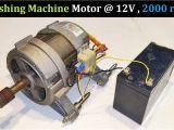 Dynamo Generator Motor Wiring Diagram Run A 220v Washing Machine Motor at 12v Dc Ups Battery Full Explanation Wiring Connections