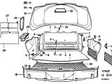 E31 Wiring Diagram original Parts for E31 850ci M70 Coupe Vehicle Trim Trunk Trim