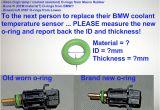 E39 Auxiliary Fan Wiring Diagram Next Person to Replace Coolant Temperature Sensor Please Measure