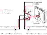 Electric Baseboard Heater thermostat Wiring Diagrams Yr 6879 Wiring 240 Volt Baseboard Heater Diagram Schematic