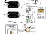 Electric Guitar Wiring Diagram One Pickup Guitar Humbucker Coax Wiring Diagrams Wiring Diagram