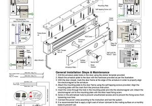 Electromagnetic Door Lock Wiring Diagram Visionis Fpc 5191 300 Lbs Indoor Electromagnetic Lock with 300 Lbs L and Z Bracket for Inswinging Door