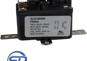 Emerson 90 380 Relay Wiring Diagram Supplying Demand 90290 Universal Fan Relay 24 V Coil Universal Fit
