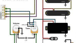 Emg Active Pickups Wiring Diagram Emg Emg Pj Active Bass Pickup Set Black Wiring Diagram