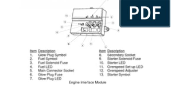 Engine Interface Module Wiring Diagram Engine Interface Module Relay Electrical Connector