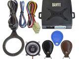 Engine Start button Wiring Diagram Amazon Com Banvie Leather Key Auto Car Alarm Engine Push button