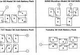 Ezgo 36 Volt Golf Cart Battery Wiring Diagram Club Car Golf Cart Battery Wiring Diagram 36 Volt Wiring