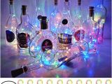 Fairy Lights Wiring Diagram Amazon Com Starrymine Wine Bottle Cork Lights Battery Operated