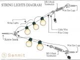 Fairy Lights Wiring Diagram Senmit Globe String Lights Suspension Kit Outdoor Light Guide Wire