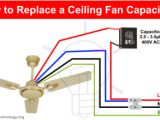 Fan Wiring Diagram with Capacitor How to Replace A Capacitor In A Ceiling Fan 3 Ways