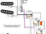 Fender Strat Pickup Wiring Diagram Strat Style Guitar Wiring Diagram