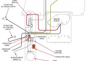 Fender Texas Special Pickups Wiring Diagram How A Treble Bleed Circuit Can Affect Your tone