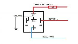 Five Wire Relay Diagram Wiring Diagram for Car Relay Wiring Diagram Show