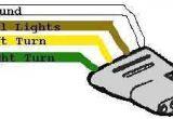 Flat Four Trailer Wiring Diagram Wiring Diagram for Trailer Light 4 Way Trailer Wiring