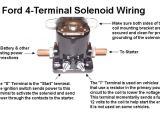 Ford 4 Pole Starter solenoid Wiring Diagram B 80 Starter solenoid Engines Redsquare Wheel Horse forum