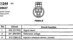Ford 6.0 Icp Sensor Wiring Diagram 6 0 Icp Wiring Diagram Fokus Faint Vmbso De