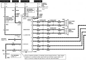 Ford Radio Wiring Harness Diagram ford F 250 Stereo Wiring Harness Wiring Diagram