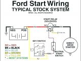 Ford solenoid Wiring Diagram ford Starter Relay Wiring Pits Wiring Diagrams All