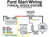 Ford Starter Wiring Diagram ford Ranger Starter Wiring Wiring Diagram Split
