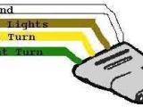 Four Wire Trailer Light Wiring Diagram Trailer Wiring Diagram Light Plug Brakes Hitch 4 Pin Way