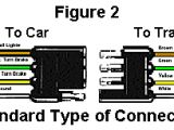 Four Wire Trailer Light Wiring Diagram Troubleshoot Trailer Wiring by Color Code