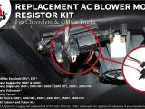 Freightliner M2 Blower Motor Wiring Diagram Amazon Com Ac Blower Motor Resistor Kit with Harness Replaces